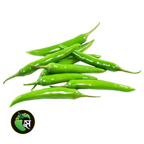Organic Green Chilli - जैविक हरी मिर्च